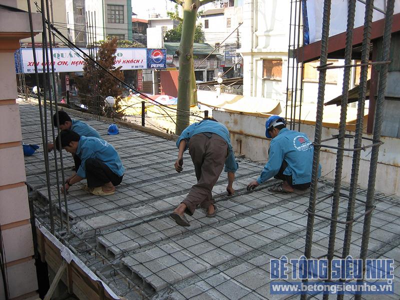Báo giá chi tiết lắp đặt Sàn bê tông nhẹ – sàn Panel