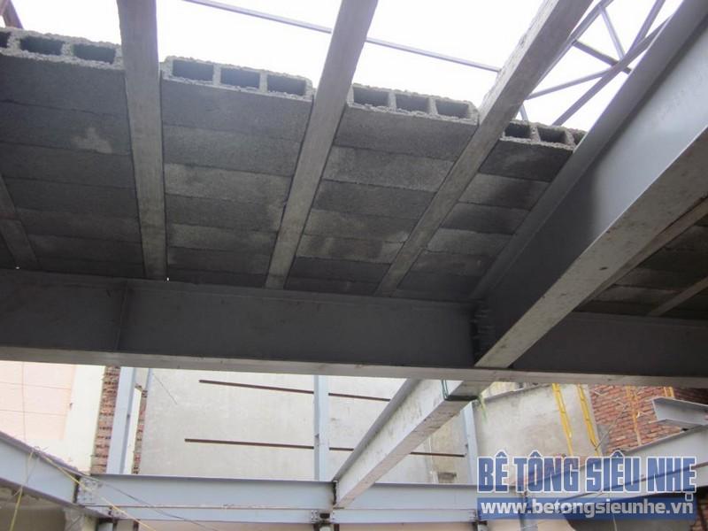 Có nên làm nhà bằng khung thép kết hợp sàn bê tông nhẹ hay không?!