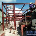 Hoàn thiện lắp ghép nhà khung thép 2 tầng công trình nhà xưởng tại Long Biên