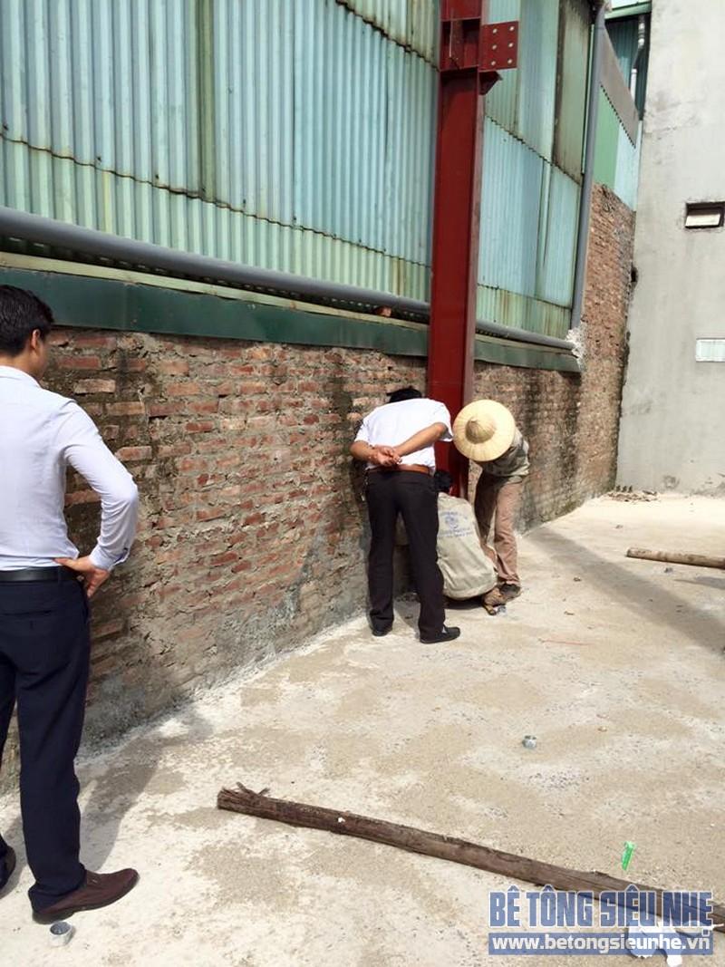 Hoàn thiện lắp ghép nhà khung thép công trình nhà xưởng tại Long Biên - 03
