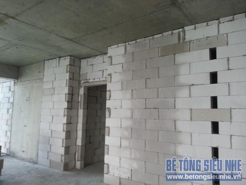 Hướng dẫn cách thi công gạch bê tông nhẹ khi xây nhà - 01