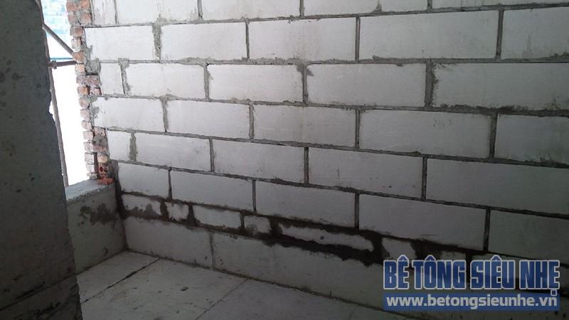 Hướng dẫn cách thi công gạch bê tông nhẹ khi xây nhà - 02