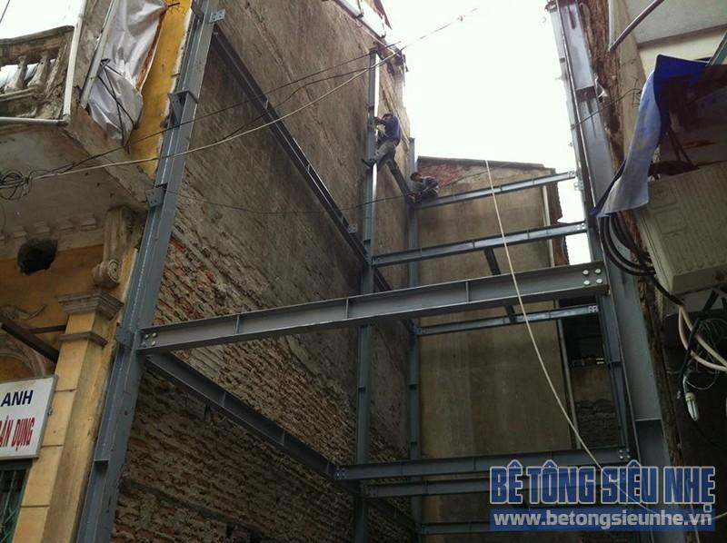 Ứng dụng thi công nhà khung thép trong xây - sửa nhà phố - 01