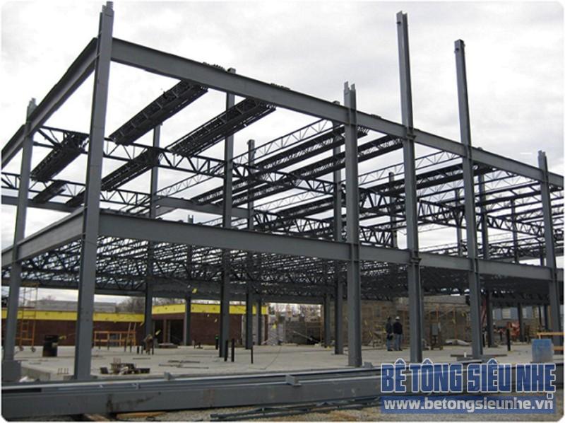 Ứng dụng thi công nhà khung thép trong xây - sửa nhà phố - 02