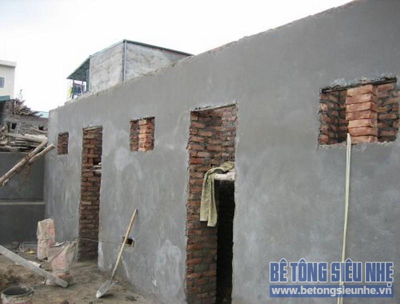 Sửa nhà nâng thêm tầng sử dụng sàn bê tông siêu nhẹ 02