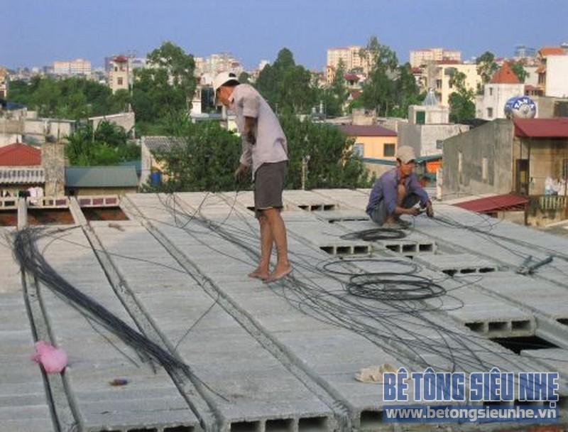 Sửa nhà nâng thêm tầng sử dụng sàn bê tông siêu nhẹ 07