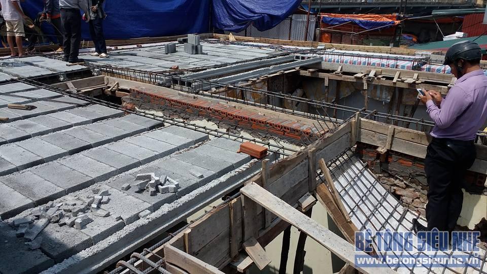 Thi công công trình sàn bê tông nhẹ cho khách sạn tại Long Biên - 05