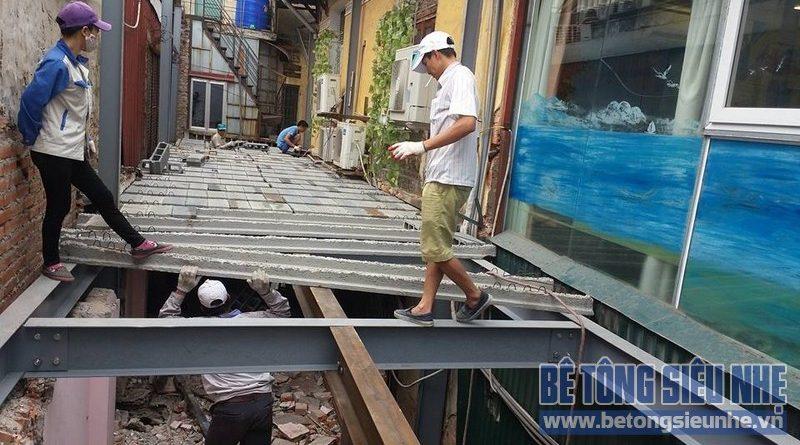Thi công nhà ở bằng bê tông siêu nhẹ chất lượng cao tại Phú Xuyên