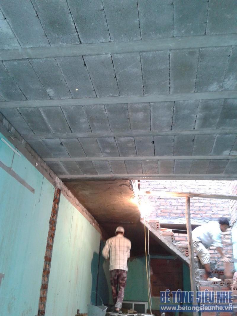 Thi công sàn bê tông nhẹ Hà Nội 08