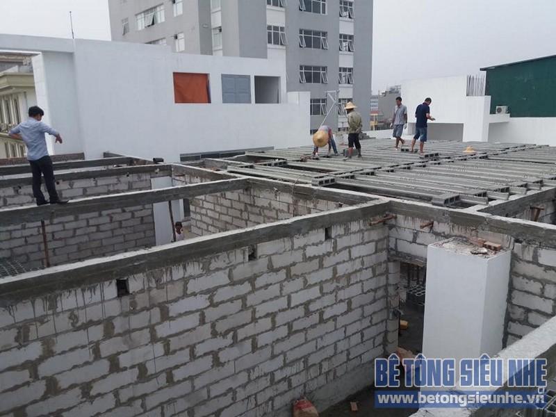 Công trình thi công sàn bê tông nhẹ nhà xưởng tại Tiền Thắng, Mê Linh - 05