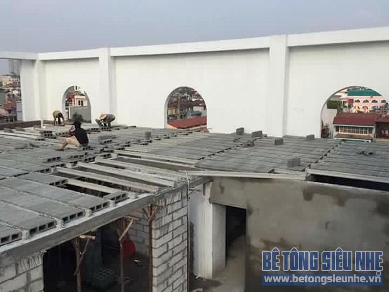 Công trình thi công sàn bê tông nhẹ nhà xưởng tại Tiền Thắng, Mê Linh - 04Công trình thi công sàn bê tông nhẹ nhà xưởng tại Tiền Thắng, Mê Linh - 04