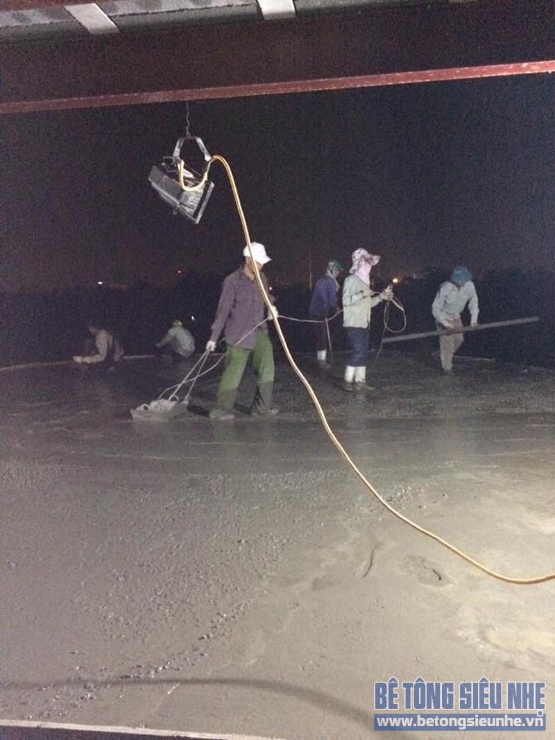 Thi công sàn bê tông siêu nhẹ cho công trình nhà xưởng ở Tàm Xá, Đông Anh - 06