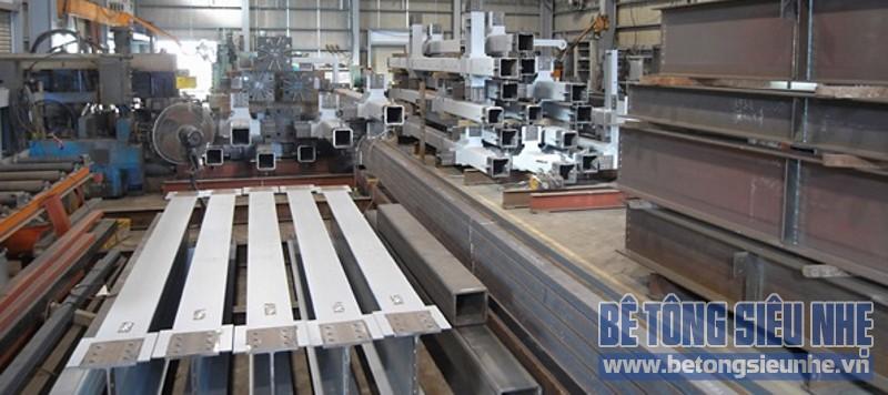Tiết kiệm chi phí xây dựng nhờ kết hợp nhà khung thép và sàn panel siêu nhẹ - 02