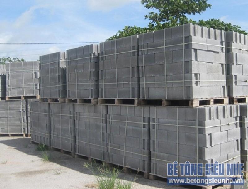 8 tính năng nổi trội của gạch bê tông nhẹ khí chưng áp