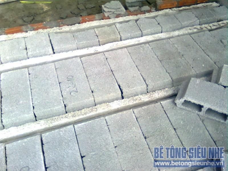 Hướng dẫn sử dụng sàn bê tông nhẹ
