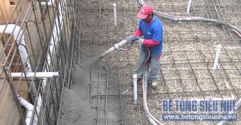 Bê tông phun là gì, và tiêu chuẩn bê tông phun trong sản xuất