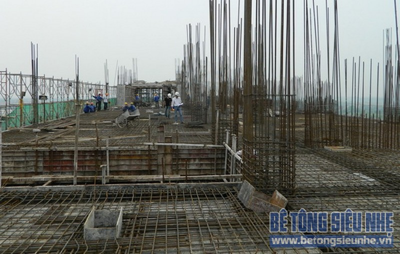 Các loại bê tông cho công trình cao tầng