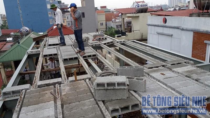 Cải tạo nhà ống sử dụng kết cấu nhà khung thép sàn bê tông nhẹ tại Nguyễn Trãi - 05