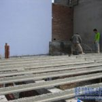 Loạt ảnh công trình sửa nhà dùng sàn bê tông siêu nhẹ tại Hà Đông