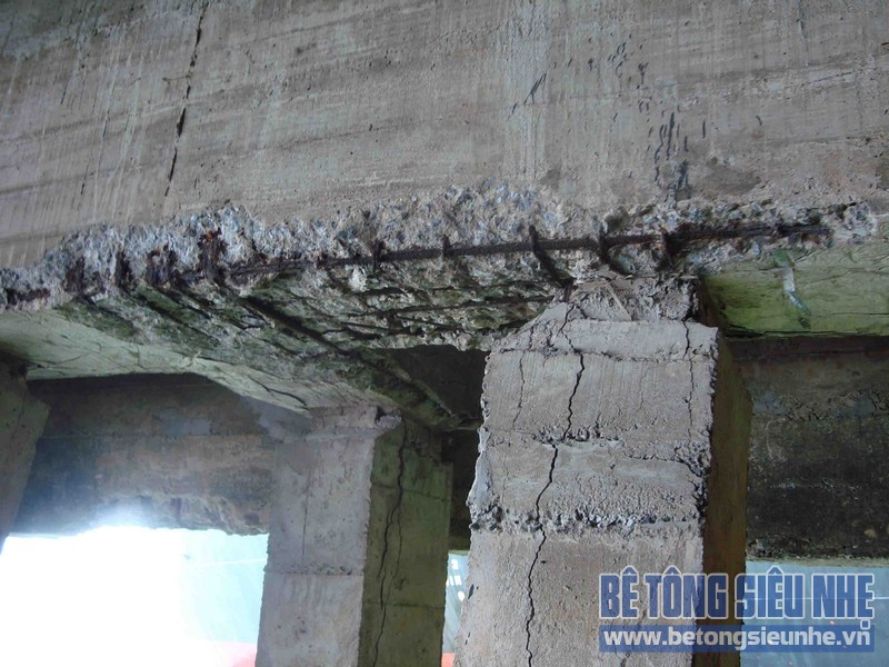 Nguyên nhân và cách phòng tránh hiện tượng bê tông cốt thép bị ăn mòn