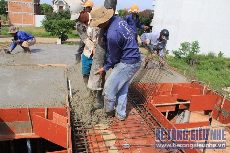 Lưu ý khi sử dụng bê tông tươi trong công trình dân dụng