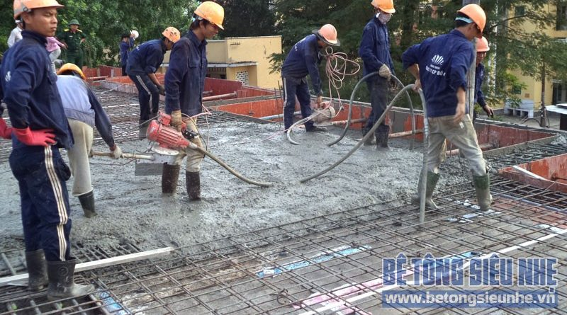 Phương pháp thi công bê tông tươi trong thời tiết nóng hiệu quả nhất