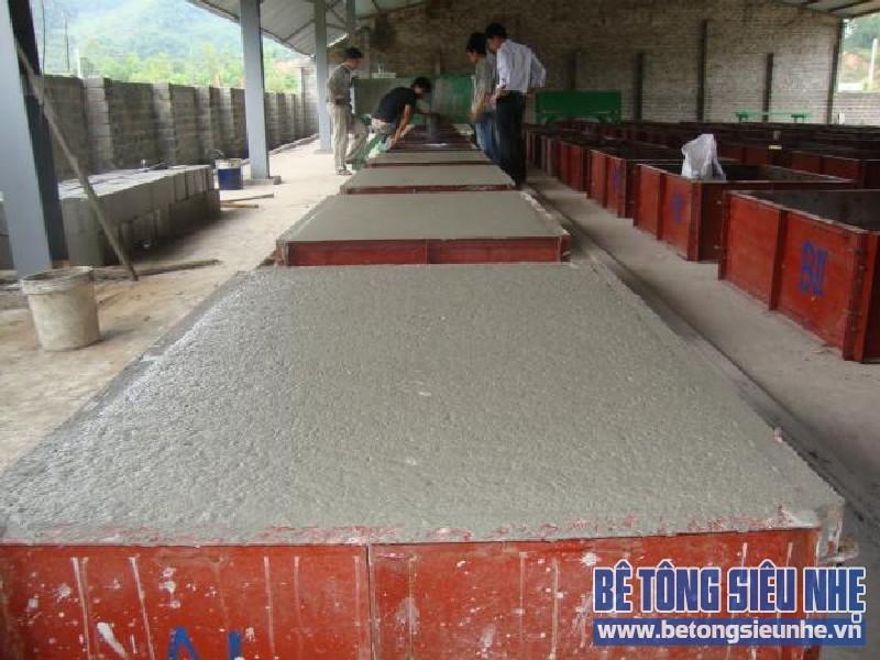 Sự khác biệt của 2 loại bê tông nhẹ phổ biến trong xây dựng