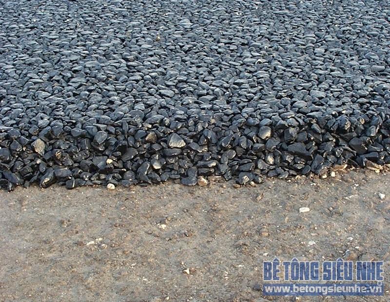 Nguyên vật liệu chính để chế tạo bê tông Asphalt