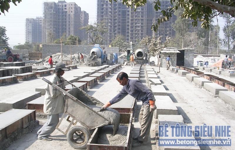 Ứng dụng bê tông tạo bọt trong xây dựng nền đường