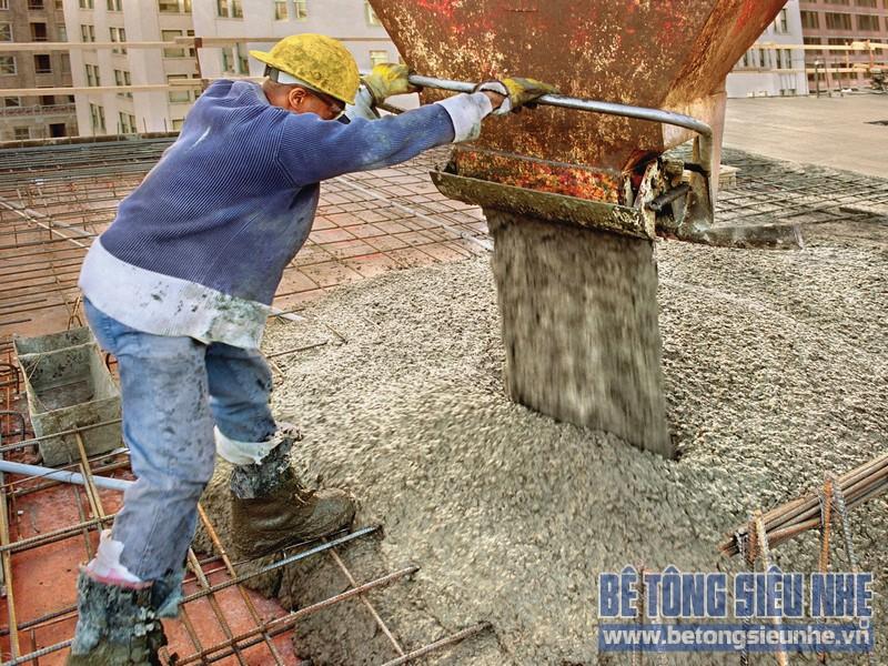 Hướng dẫn đầm lèn bê tông tươi cho công trình dân dụng đạt chất lượng