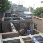 Lắp ghép sàn bê tông siêu nhẹ làm trần công trình nhà dân dụng tại Biên Giang, Hà Đông