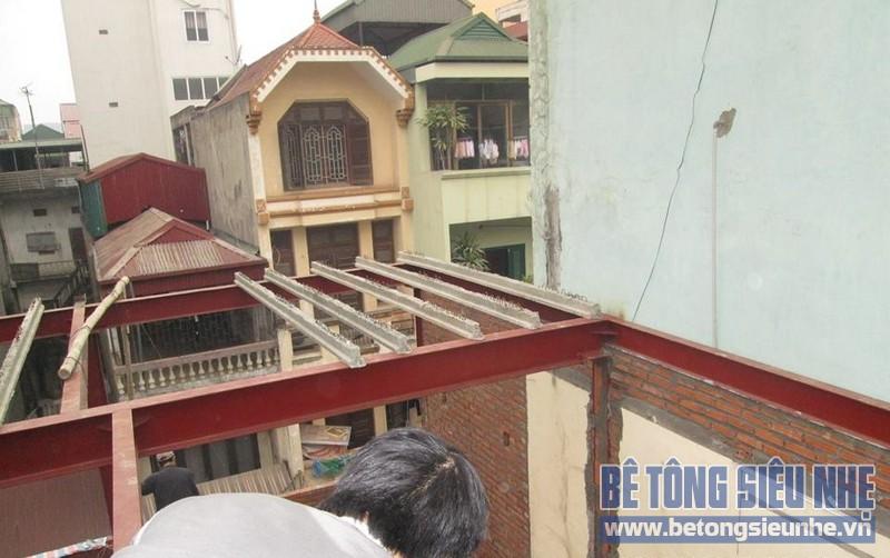 Thi công hệ khung thép và sàn bê tông nhẹ 160 Đông Các. Đống Đa. Hà Nội - 188564