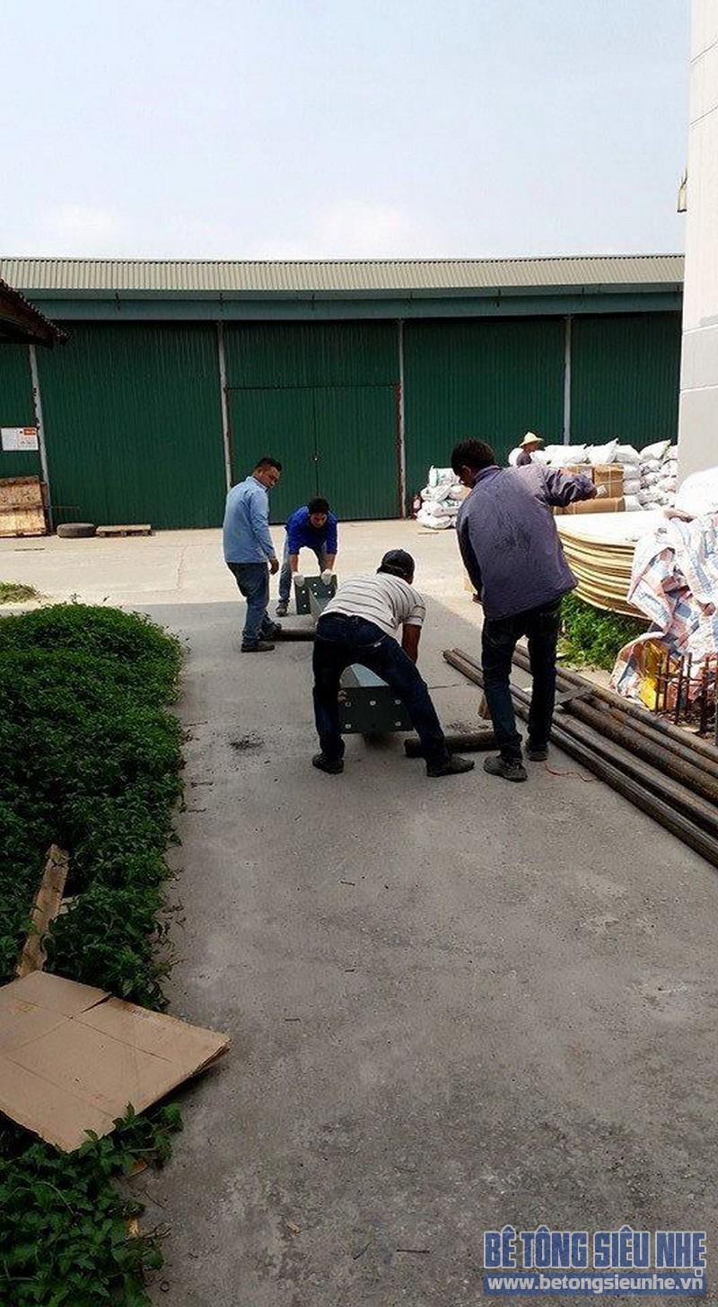 Thi công lắp dựng khung thép cho nhà xưởng tại Hưng Yên