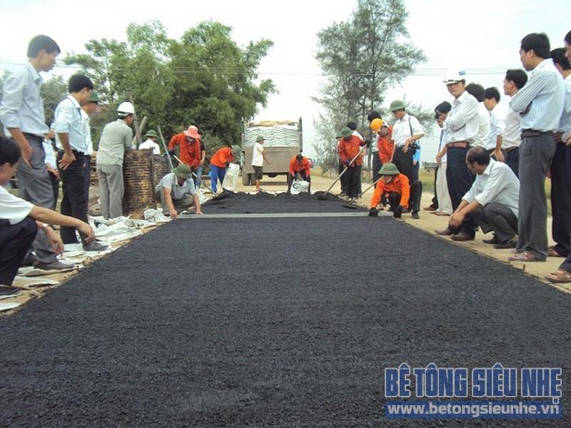 Tìm hiểu chi tiết về bê tông asphalt