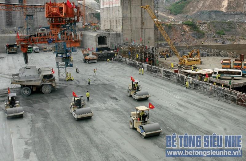 Ứng dụng bê tông đầm lăn (RCC) trong xây dựng đập thủy điện