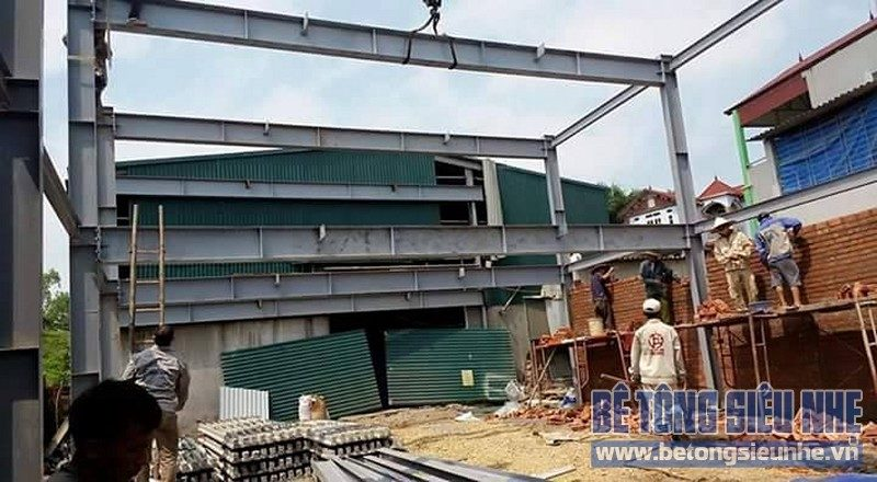 Cấu tạo nhà thép tiền chế - nhà xưởng khung thép