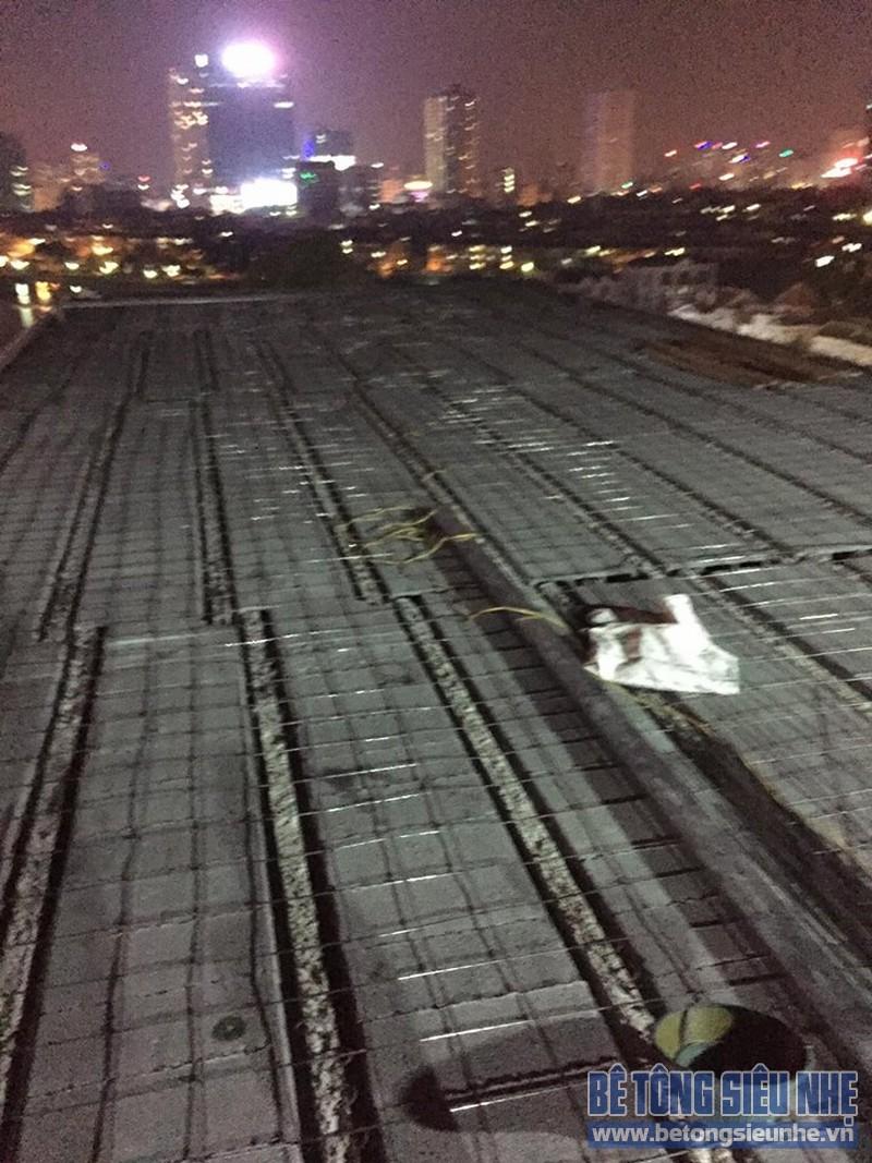Đẩy nhanh quá trình thi công cho hạng mục sàn bê tông siêu nhẹ tại Vĩnh Phúc