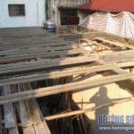 Làm trần nhà phố bằng sàn bê tông siêu nhẹ nhà anh Lĩnh ngõ 20 Thành Công