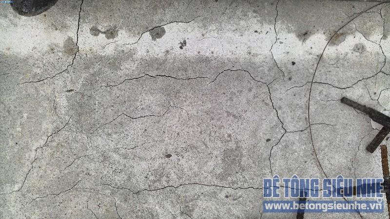 Kinh nghiệm thi công bê tông tươi để tránh các vết nứt