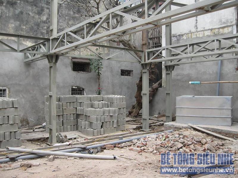Quy trình dựng khung nhà thép