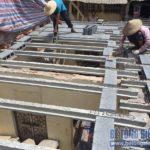 Cải tạo nhà bằng bê tông siêu nhẹ tại Mễ Trì, Nam Từ Liêm, Hà Nội