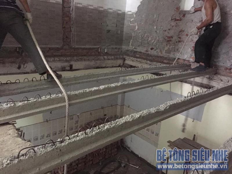 Cải tạo công trình bằng bê tông nhẹ cho nhà Vũ tại Đại Thắng, Phú Xuyên