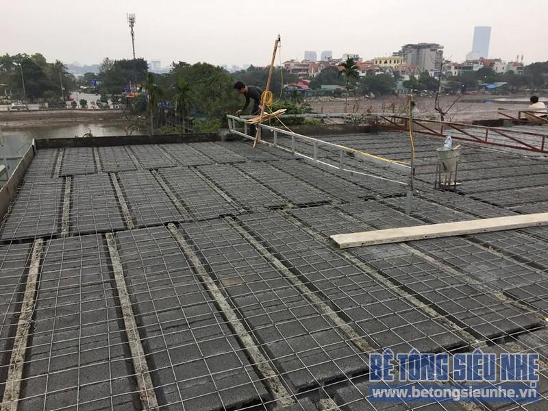 Thi công sàn bê tông siêu nhẹ cho hệ thống nhà hàng, khách sạn tại Đà Nẵng