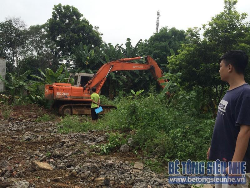 Công tác thi công nhà khung thép, sàn bê tông nhẹ khách sạn Hồ Núi Đính (Ninh Bình) P1