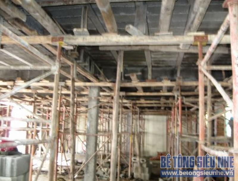 Thi công nhà khung thép, sàn panel tại Gia Lộc, Hải Dương