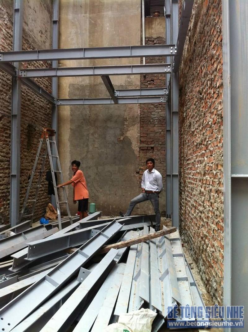 Địa chỉ xây nhà phố bằng thép tiền chế uy tín tại Hà Nội