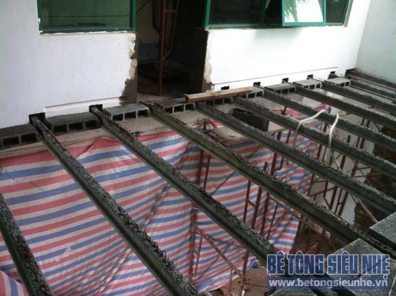 Ưu điểm của sàn bê tông nhẹ lắp ghép so với sàn bê tông nguyên khối