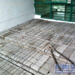 Thi công đổ trần bằng bê tông siêu nhẹ – cải tạo nhà phố cho nhà anh Dũng ở Long Biên