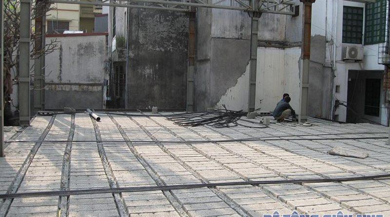Nên hay không nên đổ trần bằng sàn bê tông nhẹ lắp ghép?