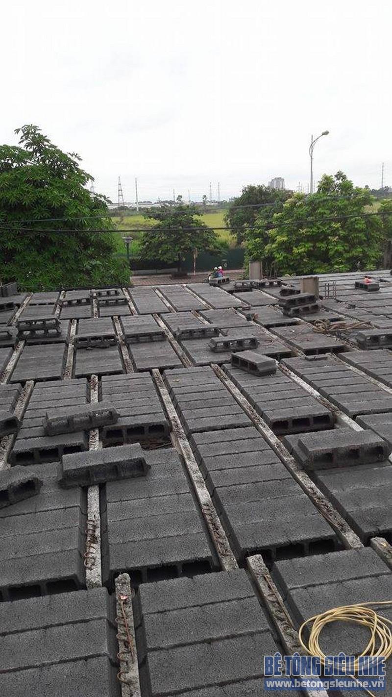 Hoàn thiện sàn bê tông siêu nhẹ nhà anh Thiện, Đông Anh, Hà Nội - 08